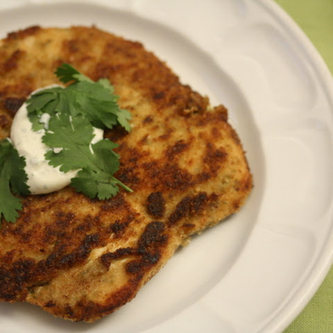 Cilantro Chicken with Milanese