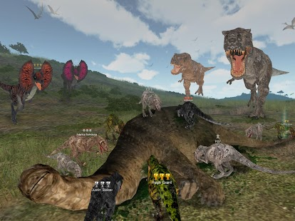 APK Game Dinos Online for BB, BlackBerry