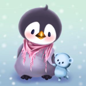 Pingüino Bo 1 Spanish Sticker Pack by Pomelo Tree For PC / Windows 7/8/10 / Mac – Free Download