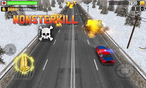 POLICE MONSTERKILL 3D screenshot 3