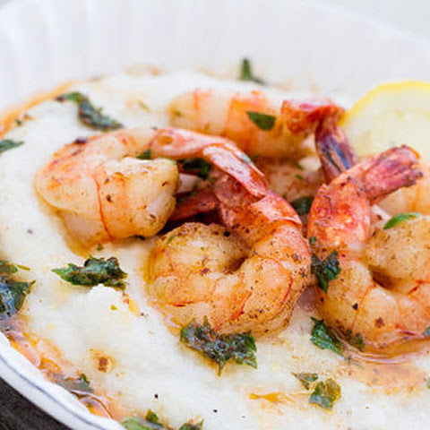 Shrimps In Lemon-garlic Sauce