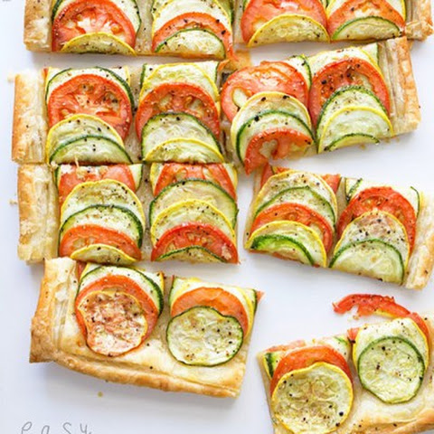 Easy Summer Veggie Tart