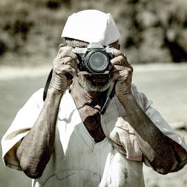 No age limit  by Pratik Pathak - People Portraits of Men ( camera nikon village life happiness )