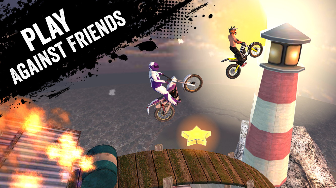 Viber Xtreme Motocross Screenshot 1