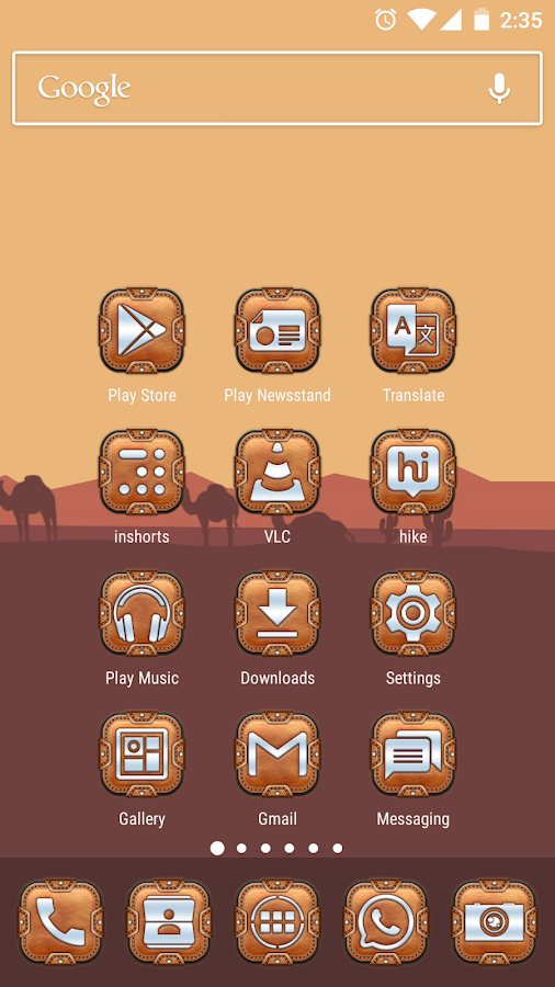 Leather Pouch-Icon Pack Screenshot 1