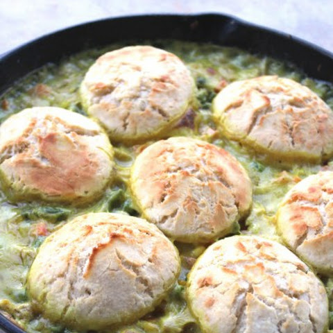 Easy Chicken Biscuit Pot Pie