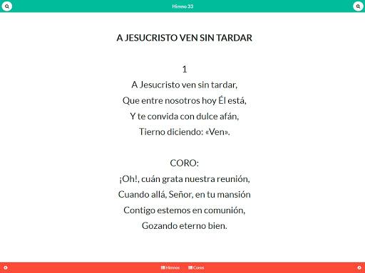 Himnario IDMJI Coros e Himnos - screenshot