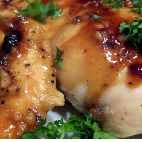 Low Fat Honey and Ginger Chicken Breasts