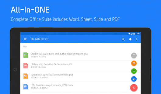 Polaris Office + PDF Editor APK for Ubuntu