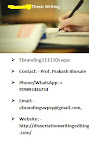 Thesis writing services in Kota