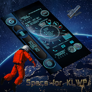 Space Blue for KLWP APK Cracked Download
