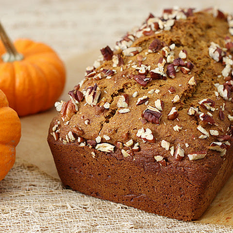 Pumpkin Honey Spice Bread