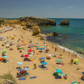 Praia de S. Rafael by Adriano Freire - Landscapes Beaches ( praia, rafael, sol, sea, algarve, mar )