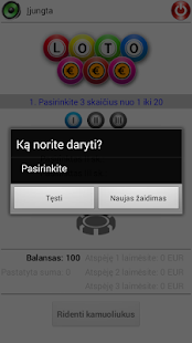 Game Loto20 - screenshot