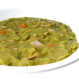 Hearty and Healthy Split Pea, Ham and Barley Soup