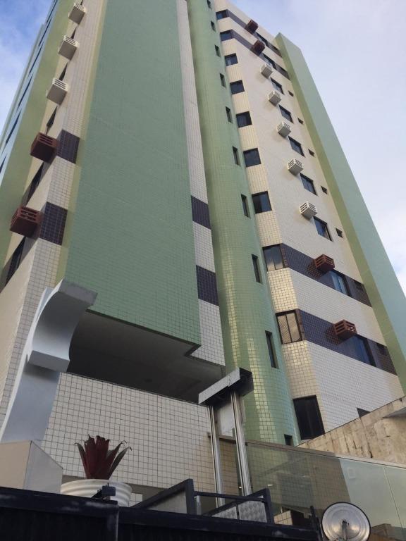 Apartamento com 2 dormitórios para alugar, 70 m² por R$ 1.300,00/mês - Manaíra - João Pessoa/PB