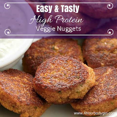 Easy & Tasty, High Protein Veggie Nuggets