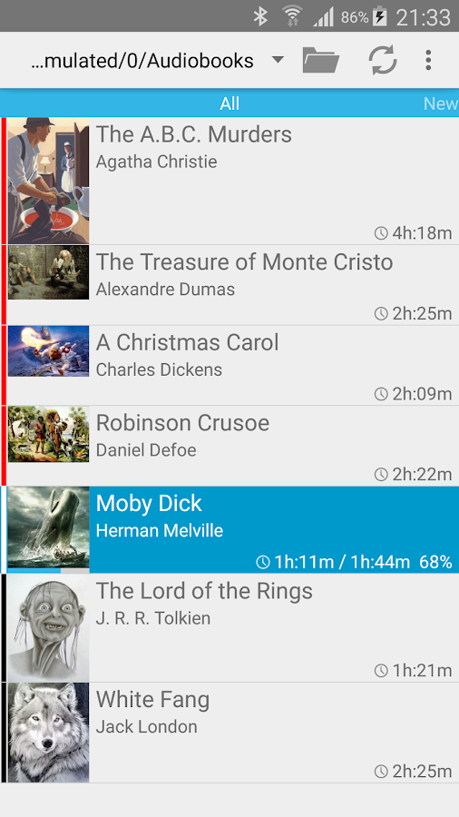 Smart AudioBook Player Screenshot 0