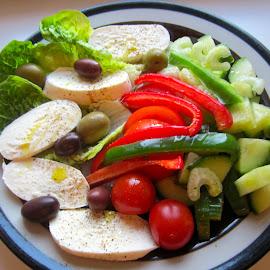 Salad by Viive Selg - Food & Drink Fruits & Vegetables