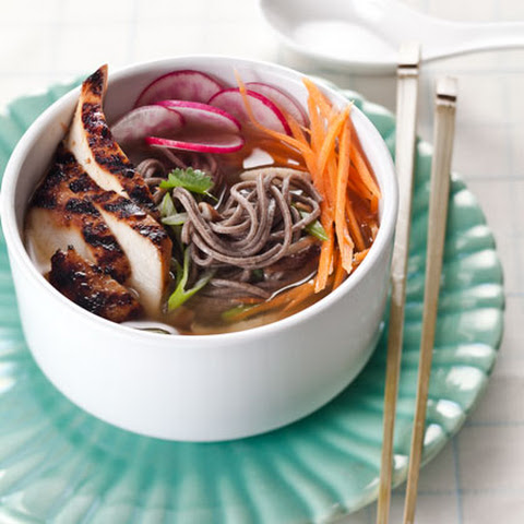 Teriyaki Chicken and Soba Noodles