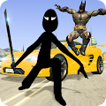 Game Shadow Superhero & Stickman: Crime City Battle apk for kindle fire