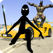 Game Shadow Superhero && Stickman: Crime City Battle APK for Windows Phone