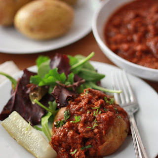 Slow Cooker Sloppy Joe-tatoes