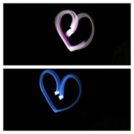 by Sumi Ahmed - Abstract Light Painting ( longexposureshots )
