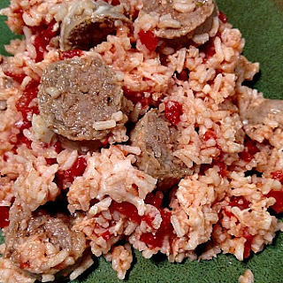 One-pot Gluten-free Sausage And Rice