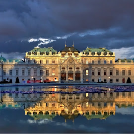by Selin Barbulescu - Buildings & Architecture Public & Historical ( mirroring, palace, belvedere )