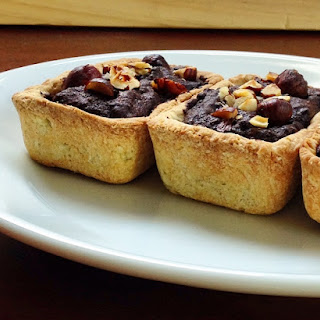 Chocolate & Hazelnut Tarts
