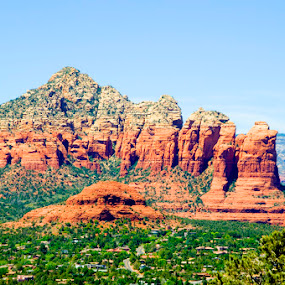 Sedona II by Rob Donner - Landscapes Mountains & Hills ( america, awesome, arizona, sedona )