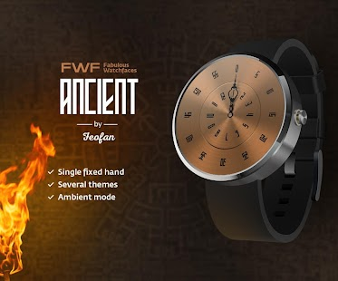 Ancient WatchFace Android Wear