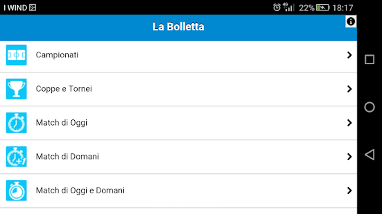 La Bolletta Screenshot