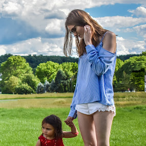 M & D by Tiffany Serijna - People Street & Candids ( child, dreamy, girl, colorful, daughter, little, candid, pretty, mom, portrait, outside,  )