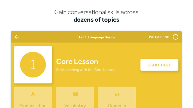 Rosetta Stone: Learn to Speak & Read New Languages Screenshot 3