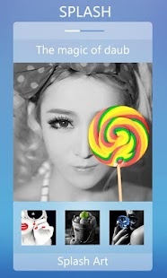 Color Splash Snap Photo editor - screenshot