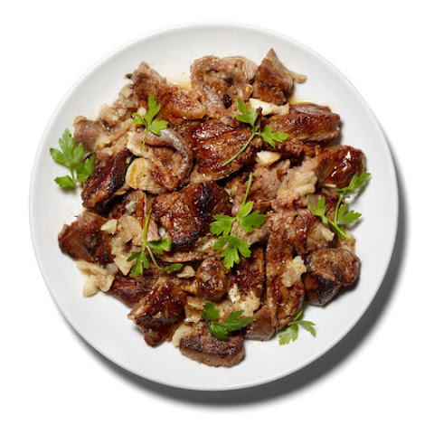 Braised Lamb With Anchovies, Garlic and White Wine