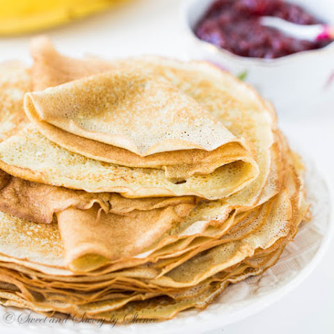 Homemade Lacy Crepes