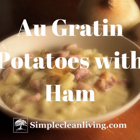 Au Gratin Potatoes with Ham