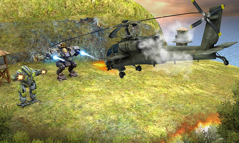 Copter vs Aliens Screenshot 2