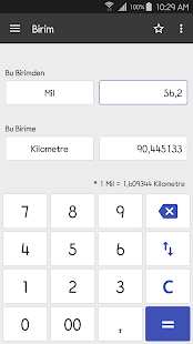 ClevCalc - Hesap makinesi Screenshot