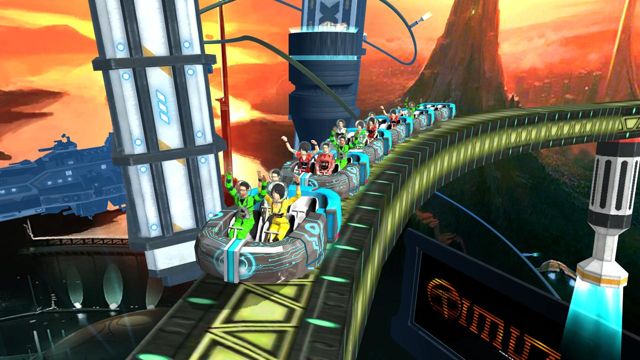 Roller Coaster Simulator Space Screenshot 5