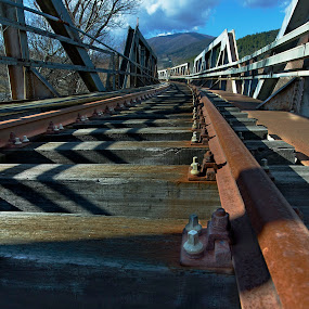 Train Bridge by Fokion Zissiadis - Buildings & Architecture Bridges & Suspended Structures ( train bridge construction promaxonas serres, bridge,  )