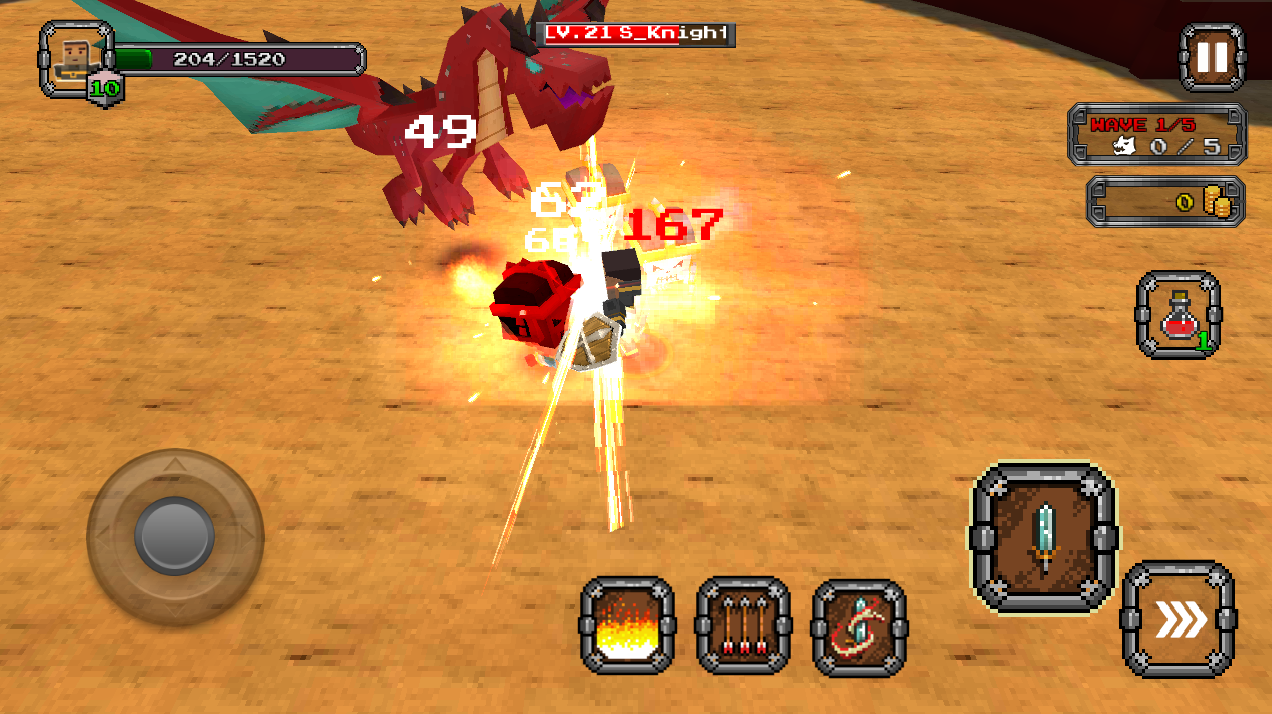 Pixel F Blade - Hack n Slash Screenshot 6
