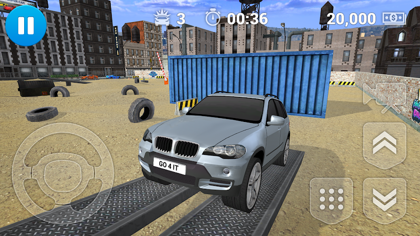 android PARKING JEU SUV Screenshot 5