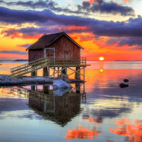 Sunset by Ann-Inger Babben Aasen - Landscapes Sunsets & Sunrises