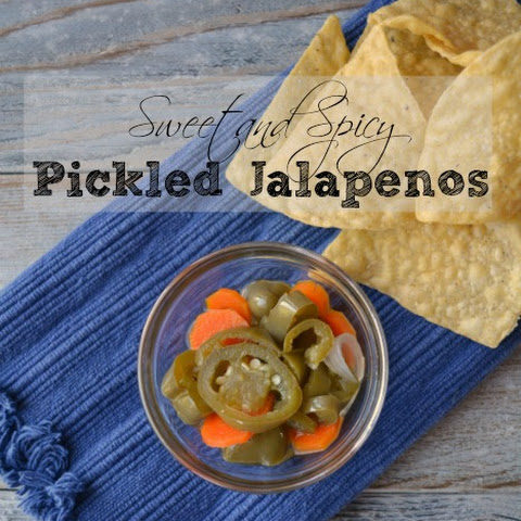 Sweet and Spicy Pickled Jalapenos