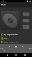 Screenshot of Music Player Free