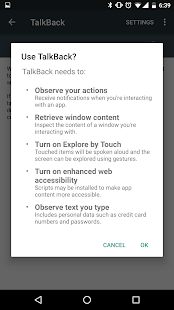 Google TalkBack APK for Nokia